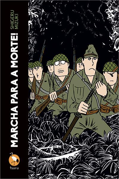 """Capa do livro """"Marcha para a Morte!"""""""