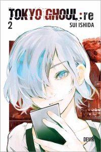 Capa do livro Tokyo Ghoul: re 02