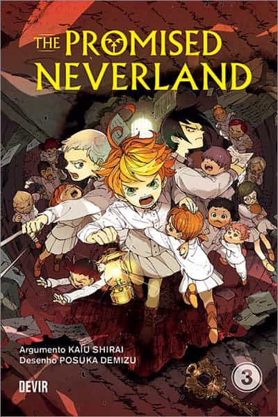 Capa do Promised Neverland 3