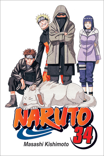 Capa do mangá Naruto 34