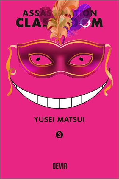 Capa do livro Assassination Classroom 03 - Promoção Carnaval