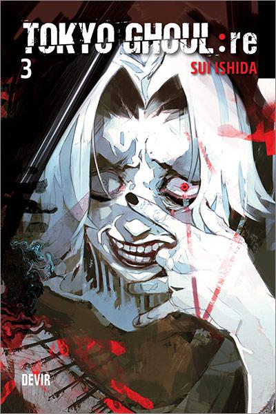 Capa do mangá Tokyo Ghoul re: 03