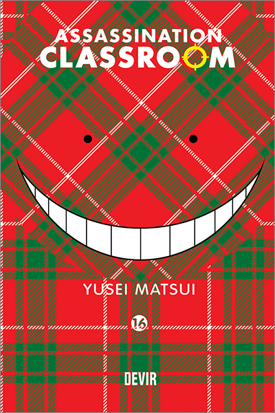 Capa do Mangá Assaination Classroom 16