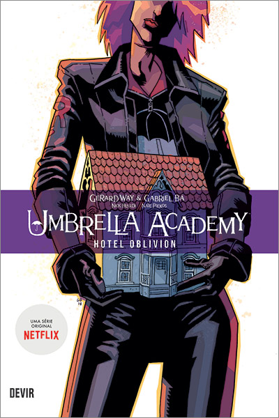 Capa do volume 3 de Umbrella Academy