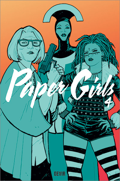 Capa do comic Paper Girls 4