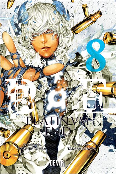Capa do Livro Platinum End 8