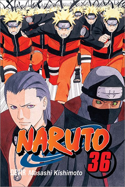 Capa do mangá Naruto 36