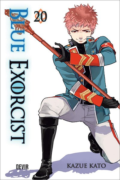 Capa do mangá Blue Exorcist 20